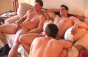 Gay Police Threesome